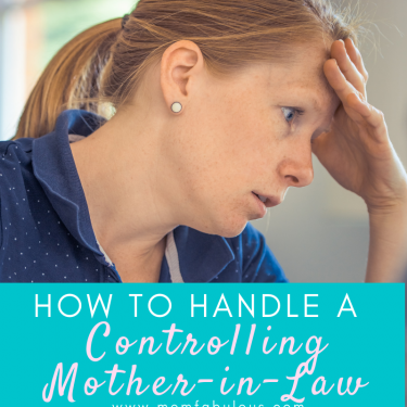 how to handle a controlling mother-in-law
