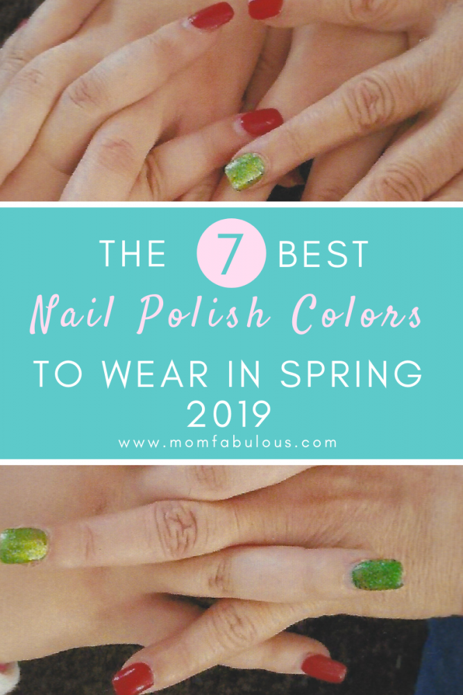 The 7 Best Nail Polish Colors To Wear In Spring 2019