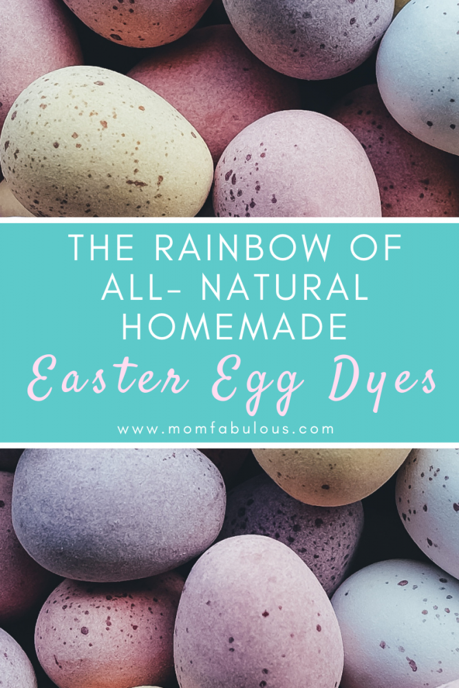 Natural Homemade Easter Egg Dyes With Food Colorings