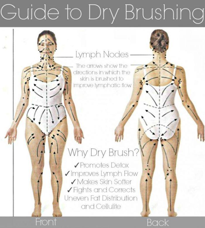 dry brushing diagram