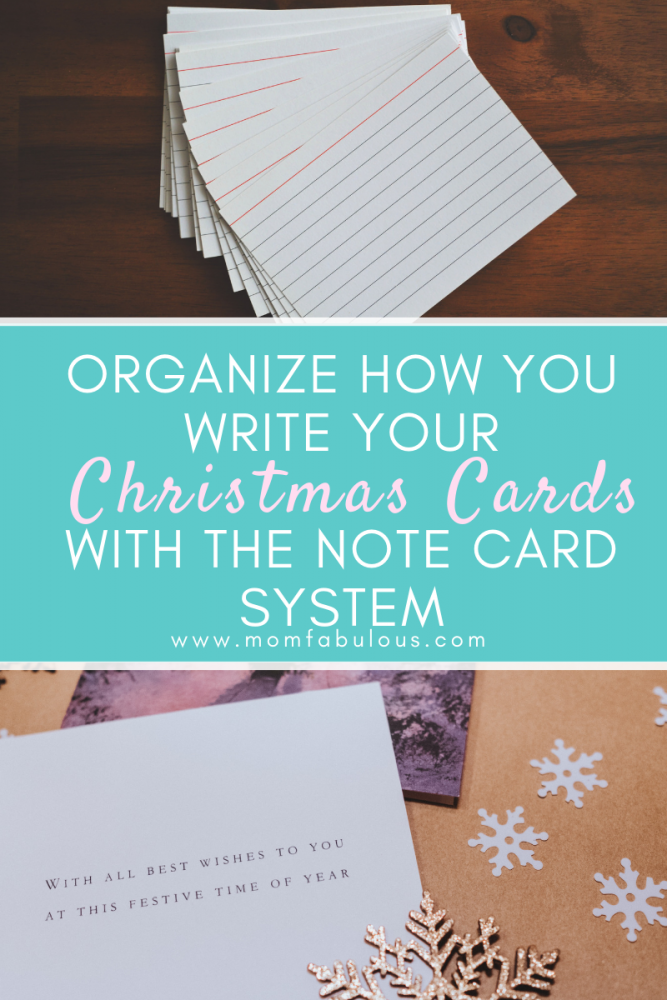 Christmas Cards With The Note Card